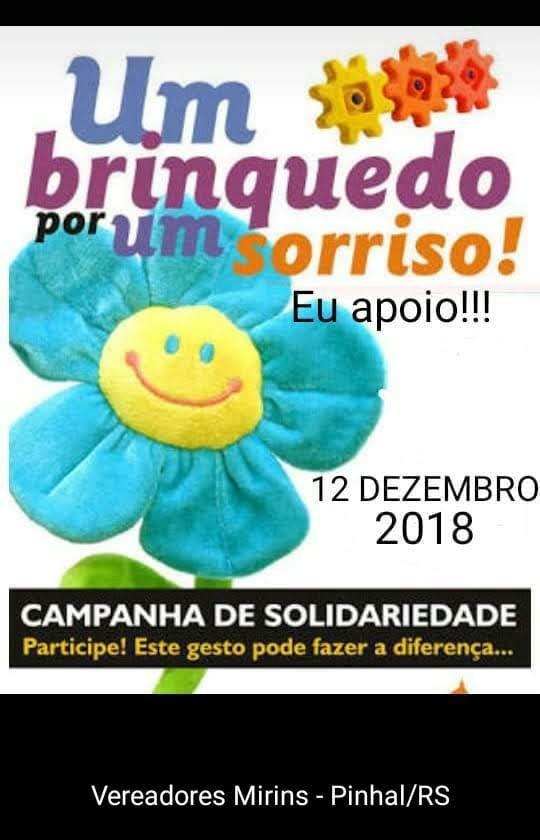 Legislativo Mirim fará campanha para arrecadação de brinquedos