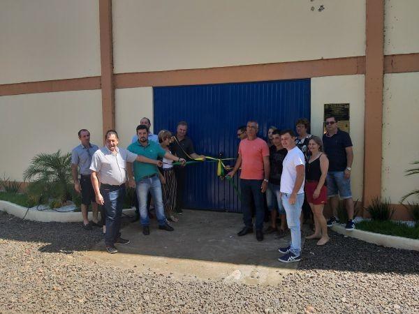 Legislativo participa da entrega de obras de melhoria na comunidade da Linha Baixo Xaxim