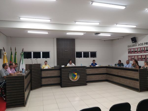 Sessão Ordinária marca o início dos trabalhos do Legislativo Municipal